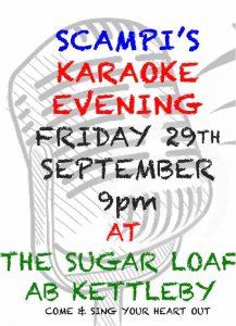 Karaoke at the Suger loaf