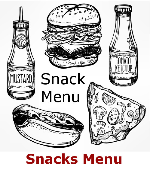 Snacks Menu